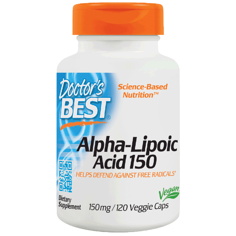 Антиоксидант Doctor's Best Alpha Lipoic Acid 150 mg 120 caps
