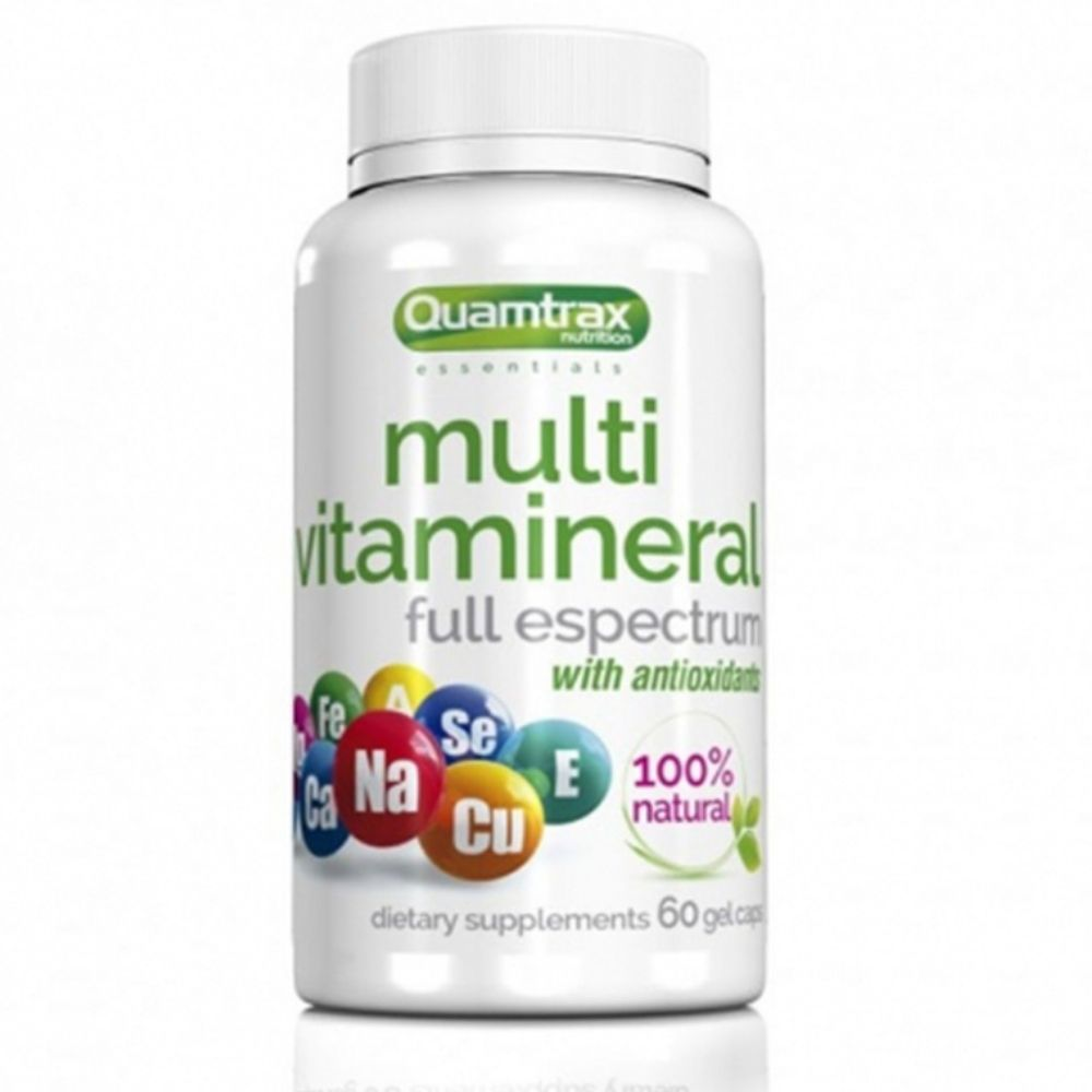 Витамины Quamtrax Multi Vitamineral 60 caps